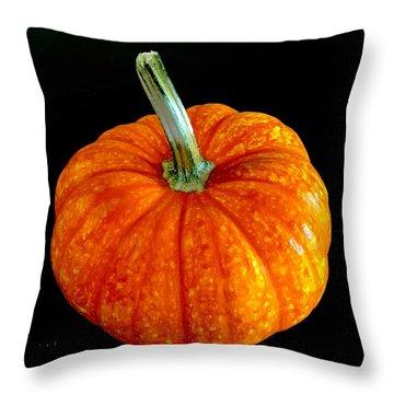 Pumpkin Throw Pillow by Russell Keating
