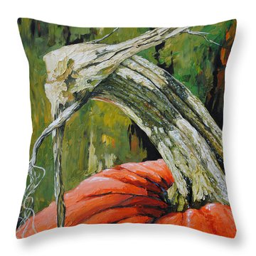 Pumpkin1 Throw Pillow