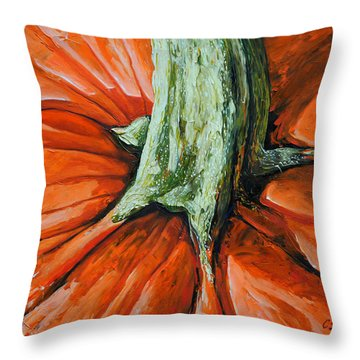 Pumpkin3 Throw Pillow