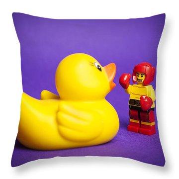 Rubber Duck Throw Pillows