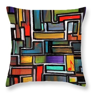 Punk Concept Painting 3 Throw Pillow