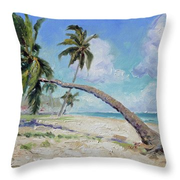 Punta Cana - Sea Beach 13 Throw Pillow