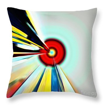 Farsighted  Throw Pillow