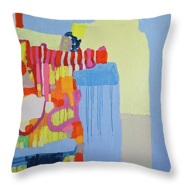 Puppetmaster Throw Pillow