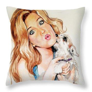 Puppy Throw Pillow