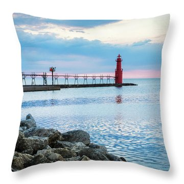 Throw Pillow featuring the photograph Pure Algoma by Bill Pevlor