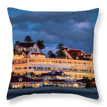 Throw Pillow featuring the photograph Pure And Simple Pano 48x18.5 by Dan McGeorge
