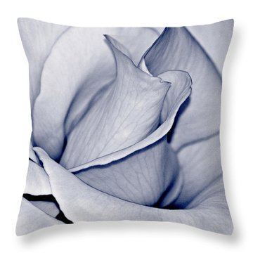 Pure Throw Pillow by Bill Owen