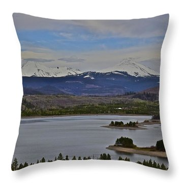Pure Delight Colorado Throw Pillow