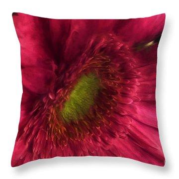 Pure Elegance Throw Pillow by Mary Lou Chmura