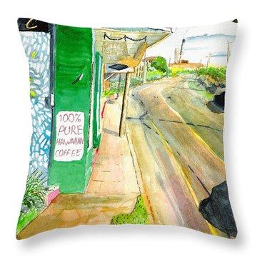 Pure Hawaiian Throw Pillow