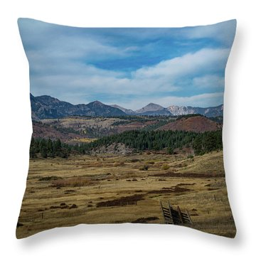 Pure Isolation Throw Pillow