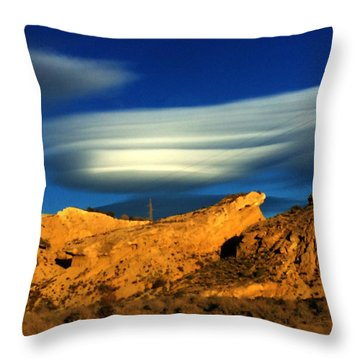 Pure Nature Spain  Throw Pillow by Colette V Hera Guggenheim