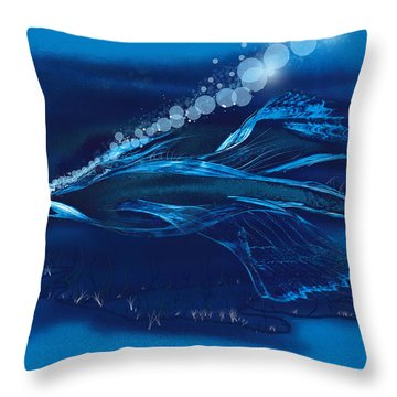 Pure Prehistoric Throw Pillow