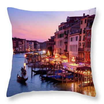 Pure Romance, Pure Venice Throw Pillow