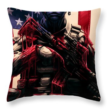 Pure Valor Throw Pillow