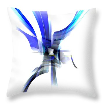 Purity 2 Throw Pillow by Thibault Toussaint