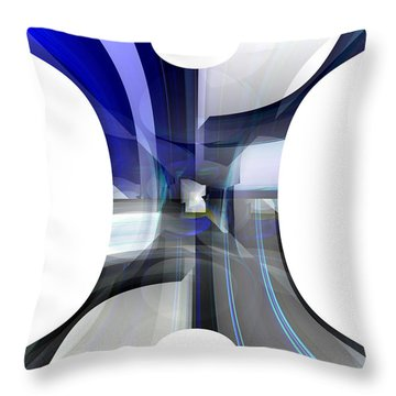 Purity Throw Pillow by Thibault Toussaint