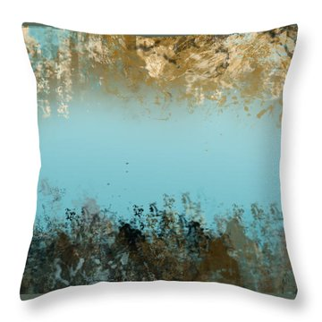 Purity Throw Pillow by Trilby Cole