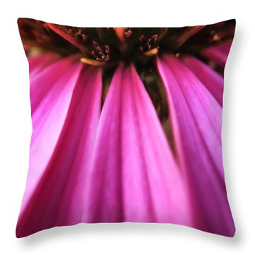 Throw Pillow featuring the photograph Purple Beauty by Eduard Moldoveanu