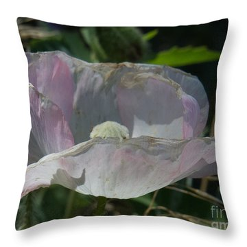 Purple Flower 4 Throw Pillow