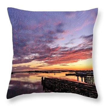Purple Icw Throw Pillow