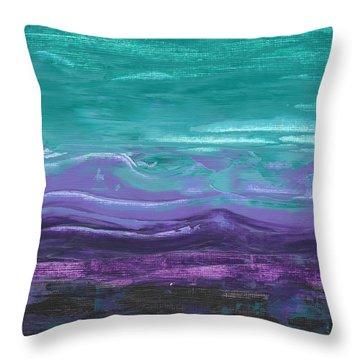 Purple Majesty  Throw Pillow