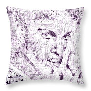 Purple Rain By Prince Throw Pillow