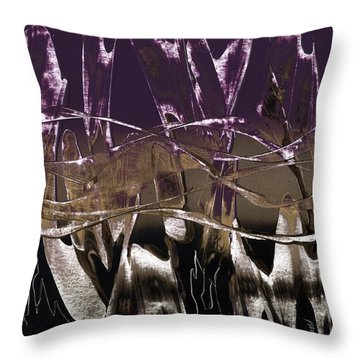 Purple Royale Throw Pillow