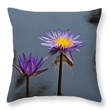 Purple Two-step Throw Pillow