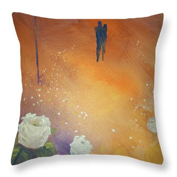 Purpose Throw Pillow by Raymond Doward