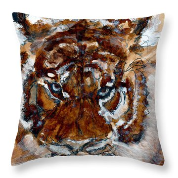 Purrrrfect Throw Pillow
