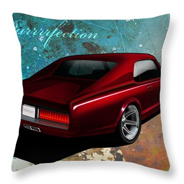 Purrrrfection Throw Pillow