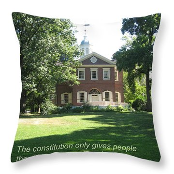 Pursuit Of Happiness Throw Pillow