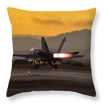Push It Real Good Throw Pillow