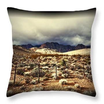 Throw Pillow featuring the photograph Push by Mark Ross