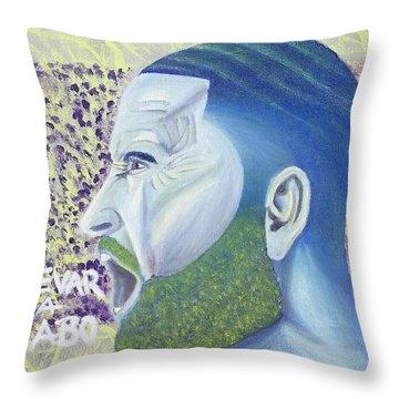 Push Through Throw Pillow