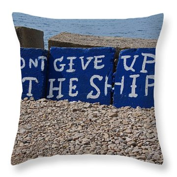 Put-in-bay Shoreline II Throw Pillow