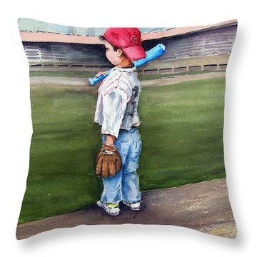 Put Me In Coach  Throw Pillow