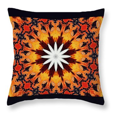 Put On The Kettle Throw Pillow