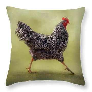 Put Your Right Foot In Throw Pillow