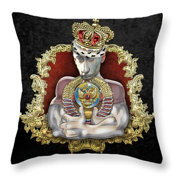 Putin's Dream - Ussr 2.0 Throw Pillow