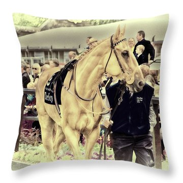 Throw Pillow featuring the photograph Putra Pulai At Newmarket by Jack Torcello