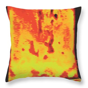 Putting Ego To Rest Throw Pillow