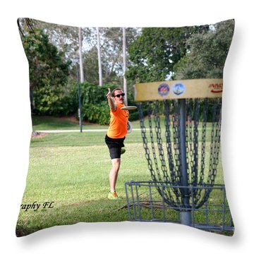 Putting  Throw Pillow