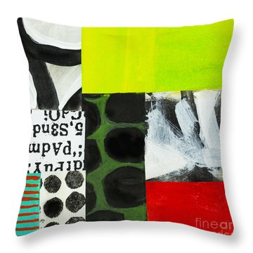 Puzzle 6 Throw Pillow
