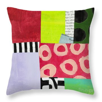Puzzle 7 Throw Pillow