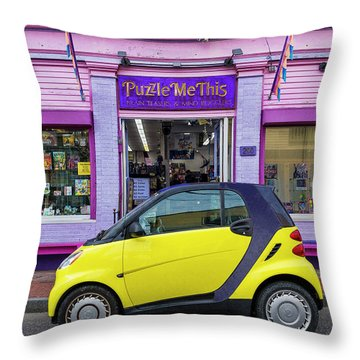 Throw Pillow featuring the photograph Puzzle Me This by Paul Wear