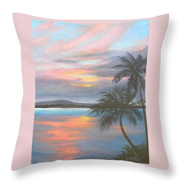 Pv Skies  Throw Pillow