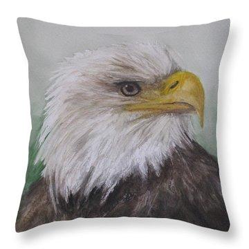 Pyrague Eagle Throw Pillow